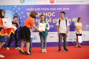 Ngày hội 'Toán học mở' lần đầu tiên đến với TP Hồ Chí Minh