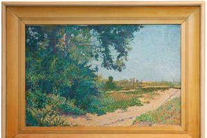 Mua tranh cũ chưa tới 2 triệu, bán được gần 800 triệu