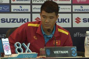 Đức Chinh đầy cảm xúc khi lần đầu thi đấu trong màu áo tuyển Việt Nam