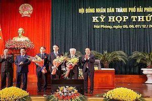 Ông Nguyễn Đình Chuyến được bầu là Phó chủ tịch UBND TP Hải Phòng