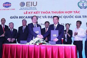 Becamex IDC hợp tác với ĐH Quốc gia hướng đến thành phố thông minh