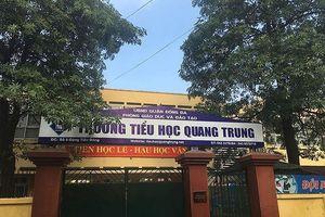 Tạm đình chỉ cô giáo cho học sinh tát bạn 50 cái ở Hà Nội
