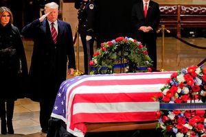 Lãnh đạo thế giới đến Mỹ viếng cố Tổng thống George H.W.Bush