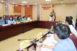 Đổi mới, nâng cao chất lượng phiên chất vấn tại kỳ họp thứ 8 HĐND tỉnh