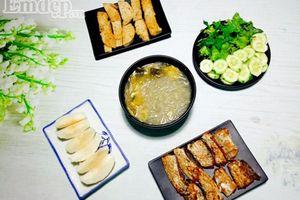 Bữa cơm 5 món đơn giản, nhanh gọn chỉ với 75.000 đồng