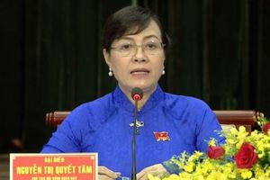 Bà Nguyễn Thị Quyết Tâm nhận phiếu 'tín nhiệm cao' nhiều thứ 2