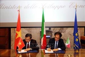 Việt Nam - Italy hướng đến hợp tác kinh tế thiết thực, hiệu quả