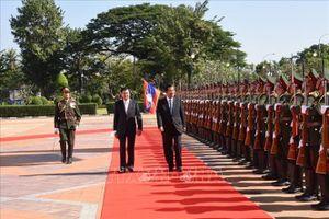 Lào và Campuchia tăng cường hợp tác