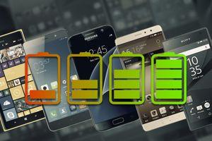 Top 5 smartphone tầm trung có thời lượng pin tốt nhất hiện nay