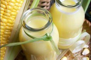 Cách nấu sữa bắp tăng cân đơn giản tại nhà
