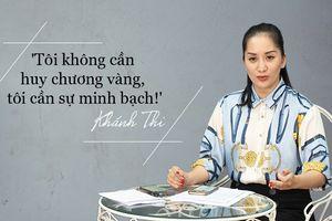 Học trò bị thay đổi kết quả vào phút chót, Khánh Thi lên tiếng: 'Tôi không cần huy chương vàng, tôi cần sự minh bạch'