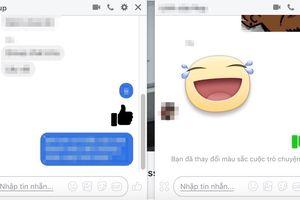 Facebook xuất hiện nút like màu đen khó hiểu?