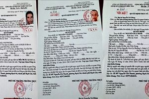 Kiên Giang: Phát lệnh truy nã đặc biệt 3 phạm nhân trốn trại