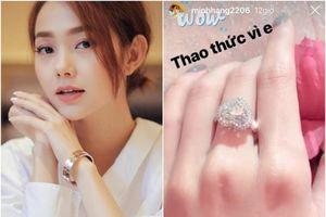 Ca sĩ Minh Hằng tiết lộ gây sốc về nhẫn kim cương khiến fan xôn xao