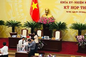 Miễn nhiệm và bầu bổ sung 2 ủy viên UBND Thành phố Hà Nội