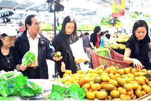 Đặc sản Yên Bái được đưa vào bán tại siêu thị ở Hà Nội