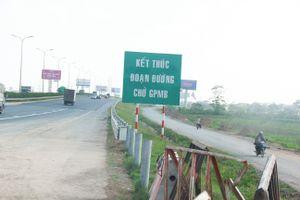 Dự án cao tốc 6 làn xe Pháp Vân - Cầu Giẽ thi công chậm như 'rùa bò'