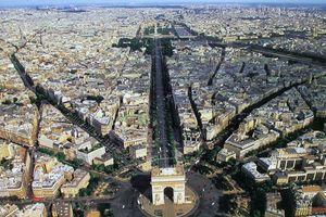 Khải Hoàn Môn yên bình trước khi bị phá hoại trong cuộc biểu tình ở Pháp