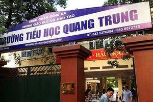Hà Nội: Giáo viên bị 'tố' phạt học sinh 50 cái tát, trường Tiểu học Quang Trung nói gì?