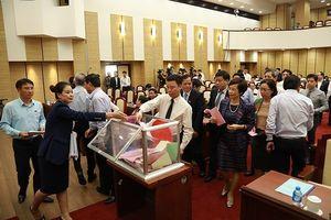 Hà Nội công bố kết quả lấy phiếu tín nhiệm với 36 chức danh do HĐND TP bầu