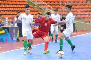 Việt Nam hòa kịch tính Indonesia tại vòng loại U20 futsal châu Á