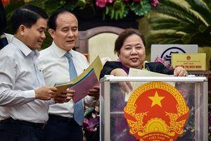 Hà Nội tiến hành lấy phiếu tín nhiệm đối với 36 chức danh lãnh đạo chủ chốt