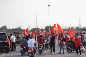 Chảo lửa Mỹ Đình nóng rực đếm ngược giờ Việt Nam quyết đấu Philippines