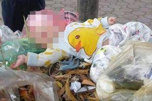 Bé 4 tháng bị mẹ bỏ trong thùng rác: 'Cháu không khóc'