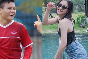 Việt Nam - Philippines trước giờ G: Bạn gái Quang Hải tiếp lửa theo cách riêng