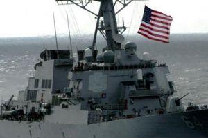 Tàu khu trục Mỹ tiến sát Hạm đội Thái Bình Dương Nga