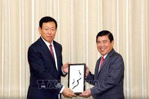 Tập đoàn Lotte quan tâm đến nhiều lĩnh vực đầu tư tại TPHCM