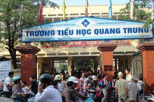 Hiệu trưởng Trường TH Quang Trung xin lỗi phụ huynh, học sinh
