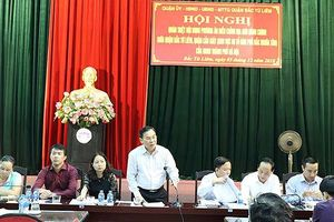 Hà Nội chuyển 8 tổ dân phố về quận Cầu Giấy