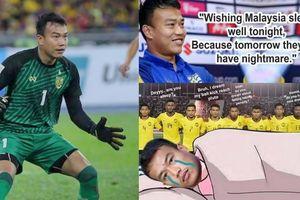 Thủ môn Thái Lan trở thành chủ đề chế giễu sau trận thua Malaysia!