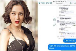 Bảo Anh công khai tin nhắn với Phạm Quỳnh Anh, chính thức lên tiếng về lời đồn bị vợ cũ Quang Huy đánh ghen