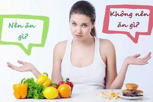Những thực phẩm cấm kỵ ăn khi đang bị mụn