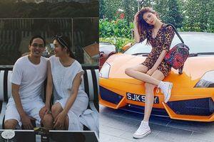 Vợ chồng Hà Tăng diện đồ đôi cực yêu, Lan Khuê đua xe đến mức tóc dựng đứng