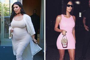 Bí quyết giảm cân sau sinh lấy lại thân hình đồng hồ cát của sao Hollywood