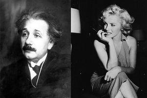 Giải mật quan hệ bí ẩn của Albert Einstein và Marilyn Monroe