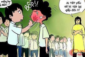Từ 231 cái tát ở Quảng Bình đến 50 cái tát ở Hà Nội: Bố mẹ dạy con ứng phó thế nào?