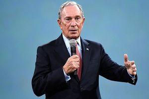 Tỷ phú Bloomberg tính bán hãng tin nếu tranh cử Tổng thống Mỹ