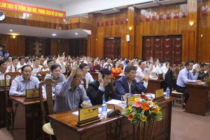 HĐND tỉnh Quảng Bình công bố kết quả lấy phiếu tín nhiệm