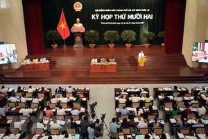 TP. Hồ Chí Minh lấy phiếu tín nhiệm 30 người có chức danh do HĐND bầu