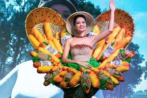 Cận cảnh bộ trang phục 'Bánh mì' của H'Hen Niê dự thi Miss Universe