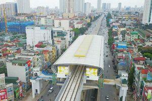 Đường sắt đô thị Cát Linh - Hà Đông lọt tốp dự án chậm tiến độ, 'đội' vốn hơn 9.200 tỷ