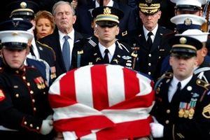 Trang trọng lễ Quốc tang cựu Tổng thống Mỹ George H.W. Bush