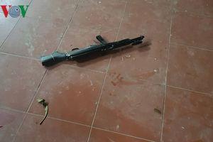 Hiện trường vụ xả súng ở chùa Phủ Liễn, Thái Nguyên