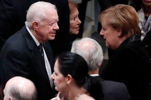 Lãnh đạo thế giới đến viếng cố Tổng thống Bush 'cha'