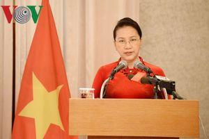 Chủ tịch Quốc hội gặp gỡ nhân sỹ hữu nghị Việt Nam – Hàn Quốc