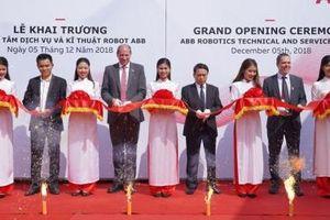 ABB khai trương Trung tâm Kỹ thuật và Dịch vụ Robot tại Việt Nam